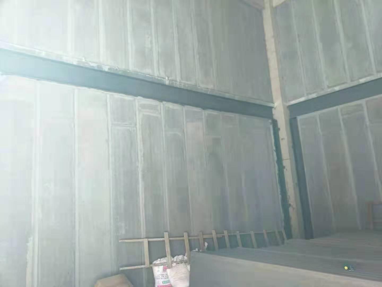 企业钢结构厂房隔墙板案例展示