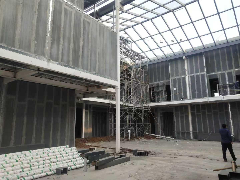 企业钢结构外墙轻质隔墙板展示